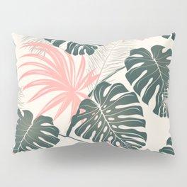 Tropical Coral Pillow Sham