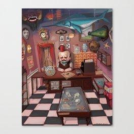 Mr. Chudderley's Shop of Curiosities Canvas Print