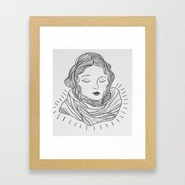 Winter Mornings Framed Art Print