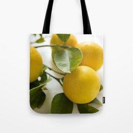 Branch of Lemons Tote Bag