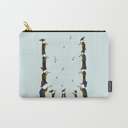 Eleven Pipers Piping  Carry-All Pouch