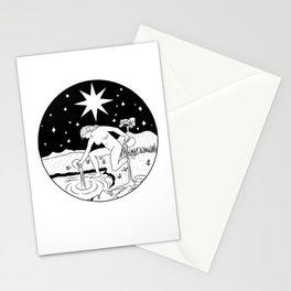 THE STAR - Waite tarot inspired Stationery Cards