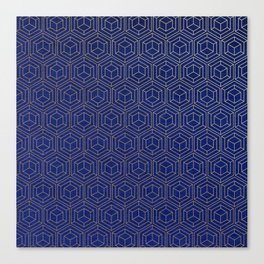 Hexagold Canvas Print