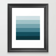 cijan Framed Art Print