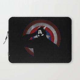 SuperHeroes Shadows : Captain America Laptop Sleeve