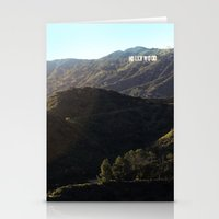 hollywood Stationery Cards featuring Hollywood by  Rikki