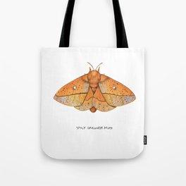 Spiny Oakworm Moth (Anisota stigma) Tote Bag