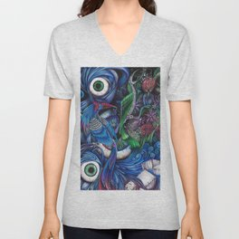 oeilnature Unisex V-Neck