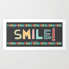 SMILE MUGS Art Print