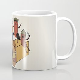 AT - Hog Dog Knights Coffee Mug