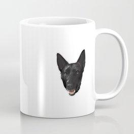 Black Husky Coffee Mug
