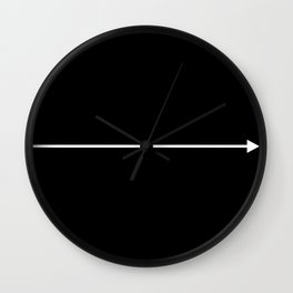 go with the flow Wall Clock