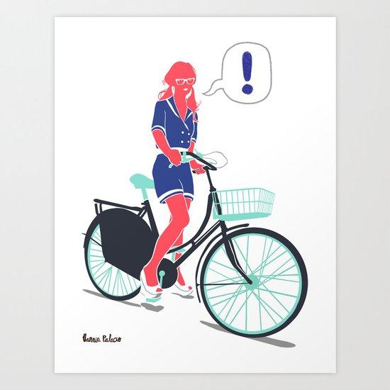 LE COOL GAL Art Print