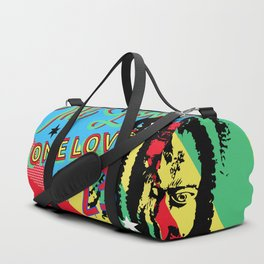 Rasta Reggae One Love Party Duffle Bag