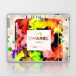 No 5 Grunge Laptop & iPad Skin