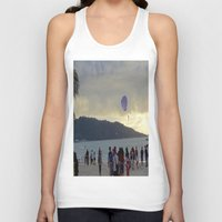 thailand Tank Tops featuring Thailand Sunset by ENGINEMAN - JOSEPHAMT