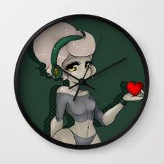 1. The Girl of Tin.  Wall Clock