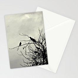 wolkenweiß/rabenschwarz Stationery Cards