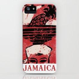 Jamaica - Vintage Caribbean Travel iPhone Case