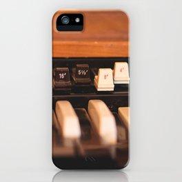 Hammond Drawbars iPhone Case