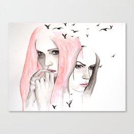 Conflict Canvas Print