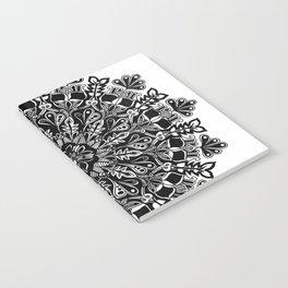 Mandala: Skeleton Leaves Notebook