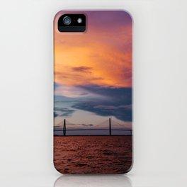 Charleston Sunset XII iPhone Case