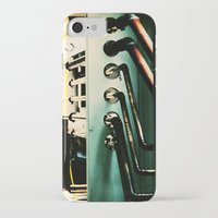 industrial iPhone & iPod Cases featuring Industrial by Nina Saunders