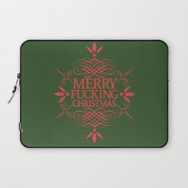 Merry Effin Christmas Laptop Sleeve