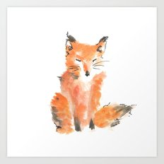 Slightly foxed Art Print