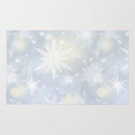 Snowflakes. Rug