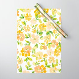 WatercolorBlossoms Wrapping Paper
