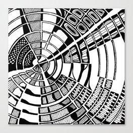 Post Modern Graphic Print Canvas Print