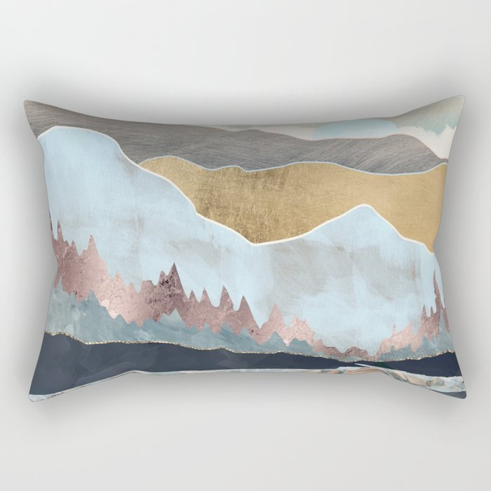 Winter Light Rectangular Pillow