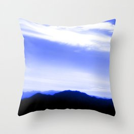 Sharm Mountains 3 Throw Pillow