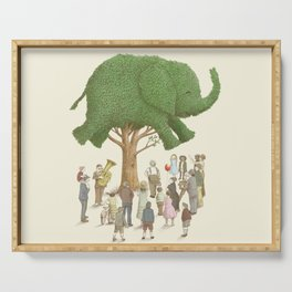 The Elephant Tree Serving Tray