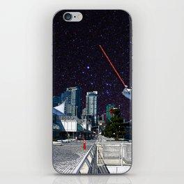 Stars in Canada Place iPhone Skin