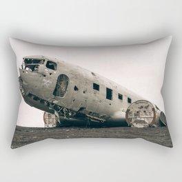 vintage aeroplane Rectangular Pillow