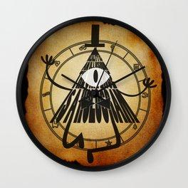 Bill Cipher Papyrus Wall Clock