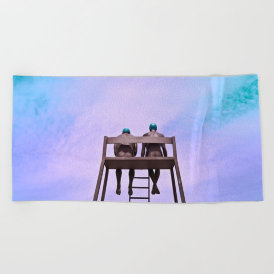 The dreamers Beach Towel