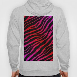 Ripped SpaceTime Stripes - Pink/Red Hoody