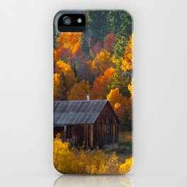 Hope Valley Fall Colors Festival, Sierra Nevada iPhone Case