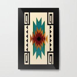 American Indian 2 Metal Print