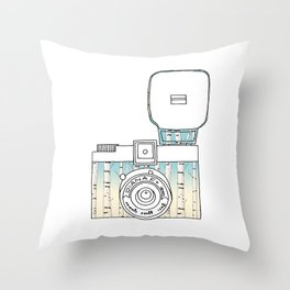 Photo in Russian Style  Throw Pillow
