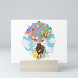 Carl's House (Up) Isometric Poster Mini Art Print