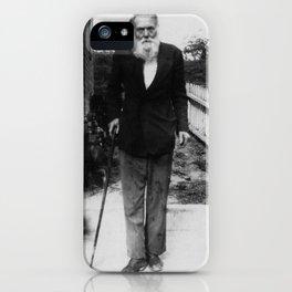 Captain Morrow iPhone Case