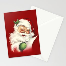 Vintage Santa Stationery Cards