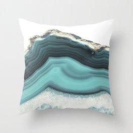 Sea Agate Throw Pillow