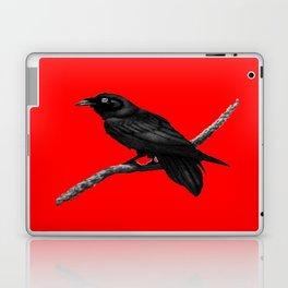 Decorative Chinese Red Black Crow Design Laptop & iPad Skin