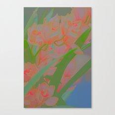 pinky flowers Canvas Print